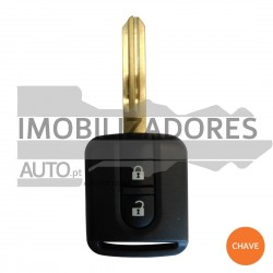 CHAVE NISSAN - 2 BOTÕES - 433MHZ PCF7946 ID46 NSN19