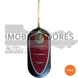 CHAVE ALFA ROMEO - 3 BOTÕES 433MHZ PCF7946 ID46 SIP22 - 001