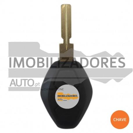 CHAVE BMW - 3 BOTÕES - 006 - IMOBILIZADOR